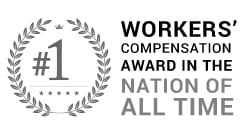 #1 Workers Compensation Award In The Nation of All Time